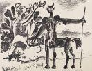 Pablo Picasso - Centaure et Bacchante avec un Faune