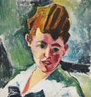 Hermann Max Pechstein - Bildnis einer jungen Frau (Dora Steinbart)