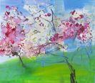 Rainer Fetting - Japanische Kirschblüten