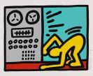 Keith Haring - Pop Shop Quad III
