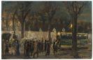 Max Liebermann - Straßenszene am Brandenburger Tor