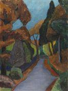 Gabriele Münter - Herbstlicher Weg