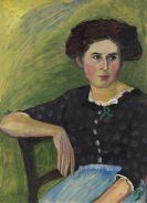 Gabriele Münter - Frauenporträt
