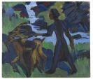 Kirchner, Ernst Ludwig - Frau mit Ziege