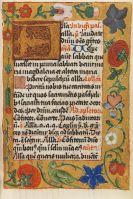 Manuskripte - Breviarium. Ende 15. Jh.