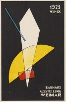 László Moholy-Nagy - Weimar Bauhaus Postkarten Nr 7: Moholy-Nagy