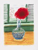 David Hockney - My Window. Art Edition No 493. Signierte Ausgabe