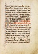 Manuskripte - Lektionar. Pergamenthandschrift, Frankreich um 1325-50