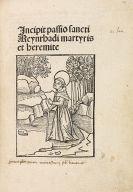 - Passio Sancti Meynrhadi martyris