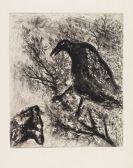 Marc Chagall - La Fontaine, Les fables. Widmungsexemplar. 2 Bände