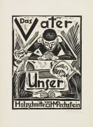 Hermann Max Pechstein - Vater unser