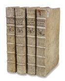 Claude-Francois Milliet Dechales - Cursus seu mundus mathematicus, 4 Bände