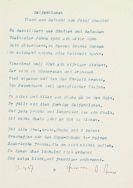 Hermann Hesse - 3 Gedicht-Typoskripte (Buchstaben / Seifenblasen / Bildnis eines Literaten)