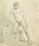 Klein, Johann Adam - 1 Kassette mit 47 Original-Zeichnungen