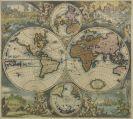 Weltkarte - Nova totius terrarum orbis tabula (Wit/Ottens)