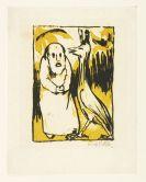 Emil Nolde - Eremit und Vogel