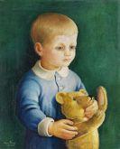Ilona Singer - Kind mit Teddybär
