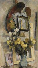 Eduard Bargheer - Stillleben mit Palette