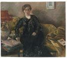Lovis Corinth - Porträt Frau Korfiz Holm (Gattin des Schriftstellers Korfiz Holm)