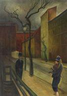 Albert Birkle - Begegnung in der Abenddämmerung