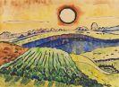 Schmidt-Rottluff, Karl - Felder und Sonne