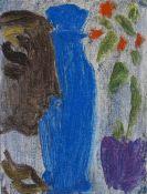 Jawlensky, Alexej von - Stillleben: Profil einer Terrakottafigur