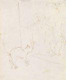 Ernst Ludwig Kirchner - Zwei Kinder mit Katze