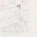 Ernst Ludwig Kirchner - Badende Mutter und Kind (japanisch)