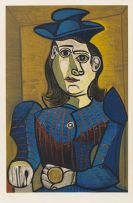 Pablo Picasso - Femme assise (Dora Maar)