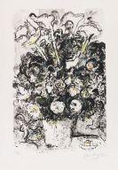 Marc Chagall - Le Bouquet blanc