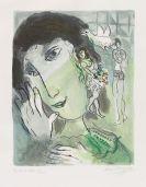 Marc Chagall - Le poète