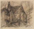 Lyonel Feininger - Kirche von Großbrembach