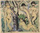 Otto Mueller - Fünf Akte im Walde