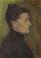 Gabriele Münter - Frauenbildnis