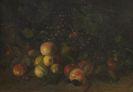Johann Sperl - Stillleben mit Früchten