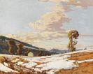Josef Stoitzner - Schneeschmelze
