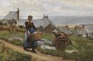 William Henry Bartlett - A bad wind for fish, but a good one for drying