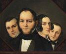 Detlev (Ditlev) Conrad Blunck - Porträt der Geschwister Karchow