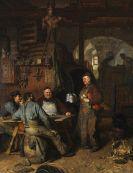 Eduard von Grützner - In der Klosterschäfflerei