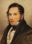 """August Grahl - Portrait eines Herrn """"Muller, Schwiegersohn von Wilki"""""""
