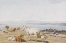 Wilhelm von Kobell - Am Ufer des Starnberger Sees