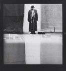 Joseph Beuys - Fotografie von Lothar Wolleh: Joseph Beuys im Moderna Museet, Stockholm (Schwarzer Rand)