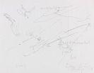 """Joseph Beuys - Proof zu Blatt 8 aus der Folge """"Zeichnungen zu Leonardo Codices Madrid"""""""
