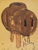 Claes Oldenburg - Sketch of a 3-Way Plug