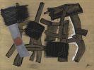 Fritz Winter - Begrenzung durch grau und weiß