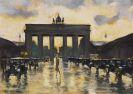 Lesser Ury - Brandenburger Tor vom Pariser Platz aus gesehen