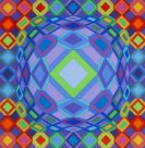 Victor Vasarely - Niepes