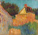 Alexej von Jawlensky - Kleines Haus vor Buschwerk (Französische Landschaft)