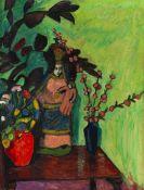 Gabriele Münter - Stilleben mit Madonna