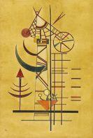 Wassily Kandinsky - Gebogene Spitzen
